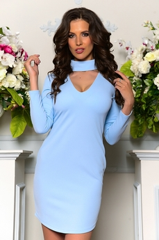 Платье с чокером Angela Ricci