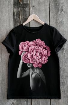 Модная черная футболка Милана со скидкой