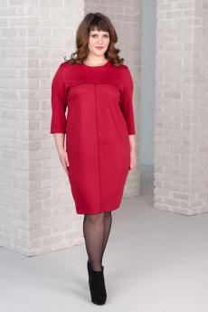 Платье вишневого цвета Шарлиз